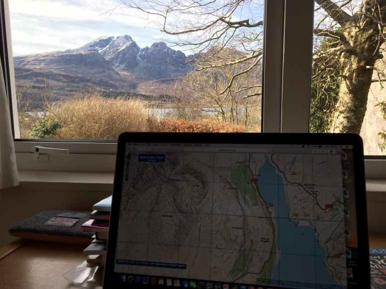 Highland Writing Retreat, Skye, Blaven